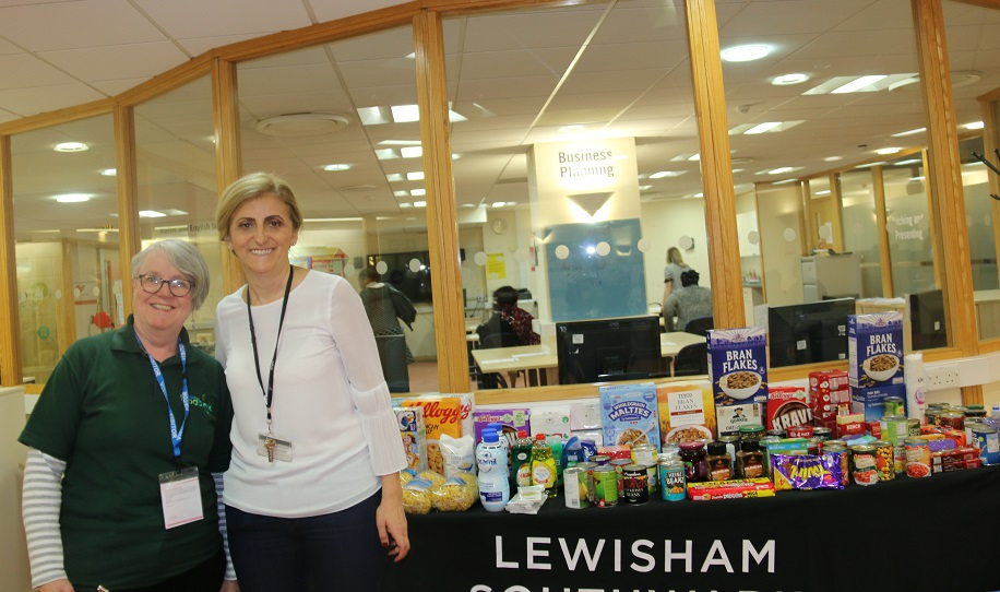 Students Take The Initiative To Support Lewisham Foodbank